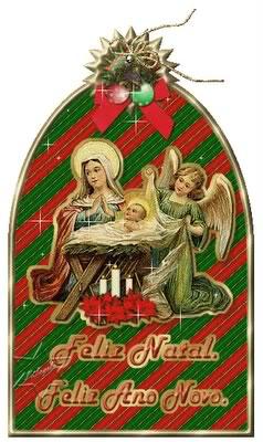 Recado Facebook Manjedoura – Feliz Natal