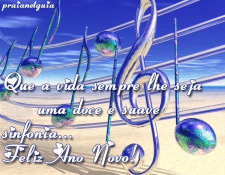 Recado Facebook Feliz 2010 Musical