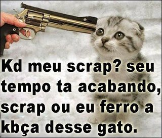 Recado Facebook KD meu scrap
