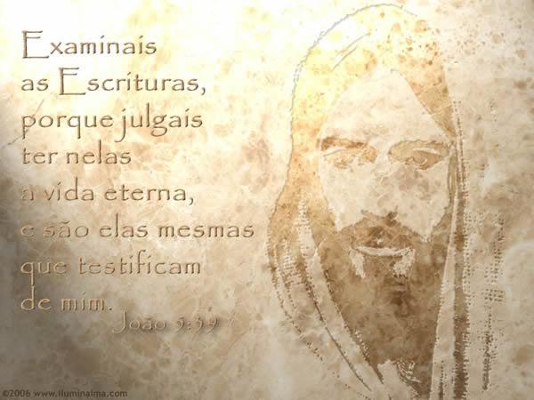 Recado Facebook João 5: 39