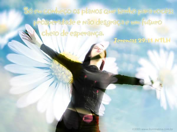 Recado Facebook Jeremias 29:11