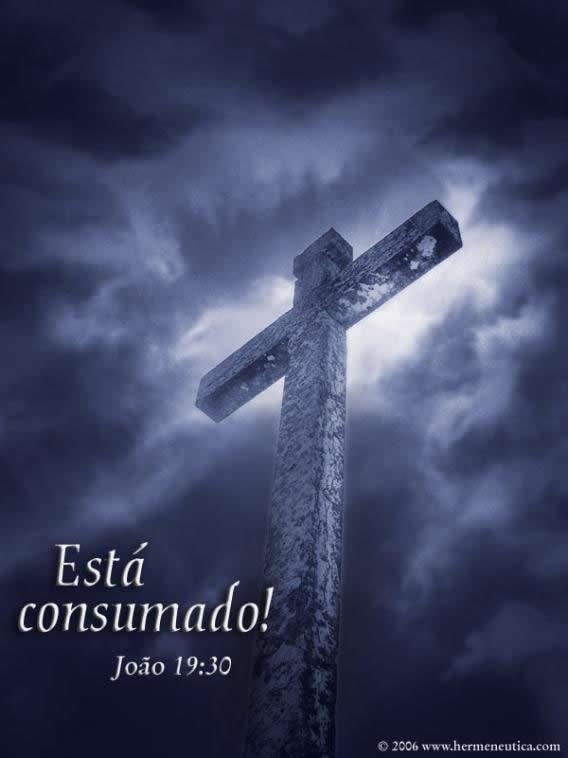 Recado Facebook João 19: 30