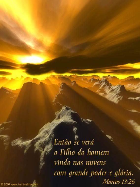 Recado Facebook Marcos 13:26