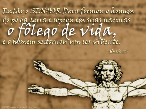 Recado Facebook Gênisis 2:7