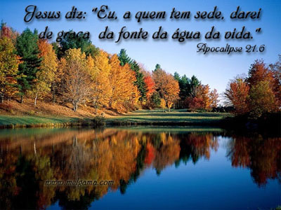 Recado Facebook Apocalipse 21:6