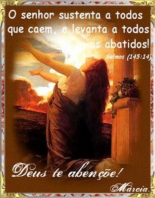 Recado Facebook Salmos 145:14
