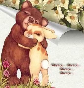 Recado Facebook Abraço… abraço… abraço…