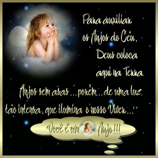 Recado Facebook Para auxiliar os anjos do céu…