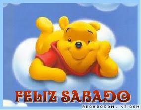 Recado Facebook Pooh: Feliz sábado