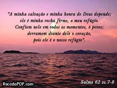 Recado Facebook Salmos