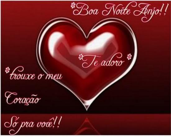 Boa Noite Amor: Lindas Mensagens: MENSAGENS DE BOA NOITE