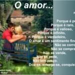 Recado Facebook O amor