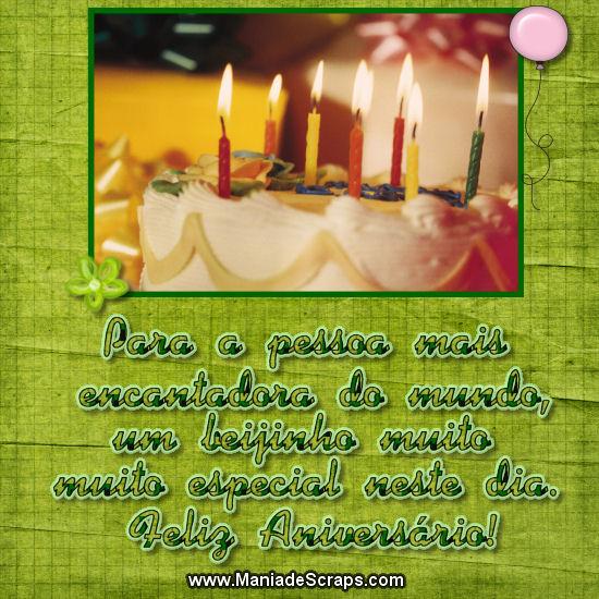 Recado Facebook Feliz Aniversário