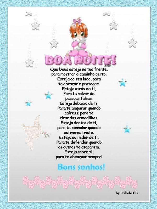 Recado Facebook Boa Noite Bons Sonhos