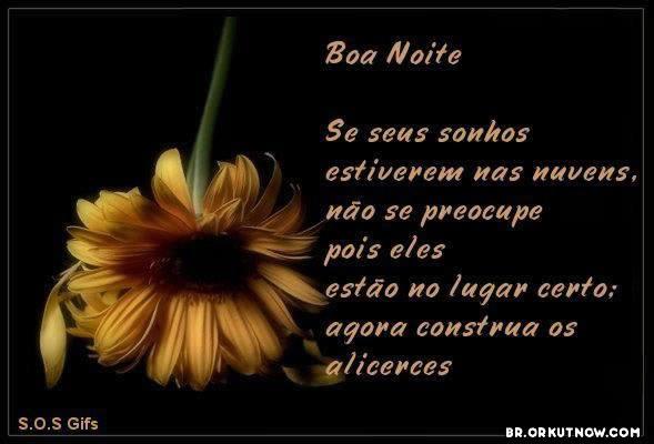 Recado Facebook Boa Noite Sonhos