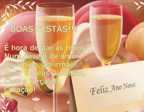 Recado Facebook Boas Festas