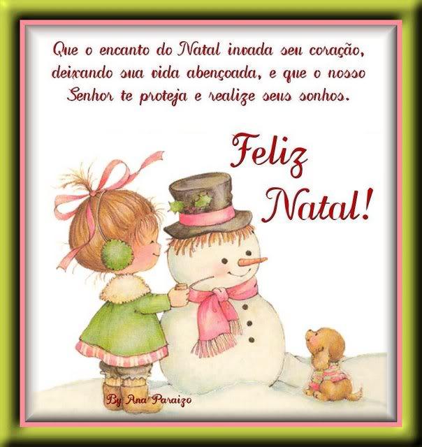 Recado Facebook Encanto do Natal