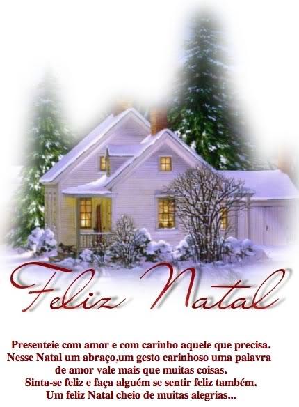 Recado Facebook Feliz Natal Amor e Carinho