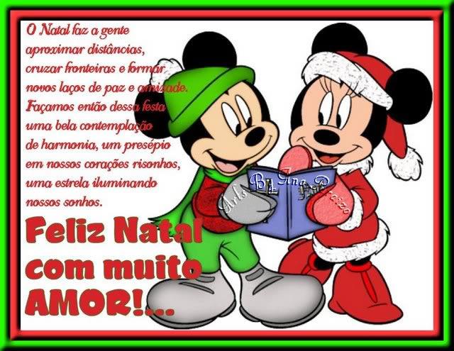 Recado Facebook Feliz Natal com muito amor