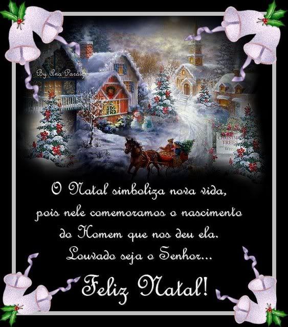 Recado Facebook O Natal simboliza