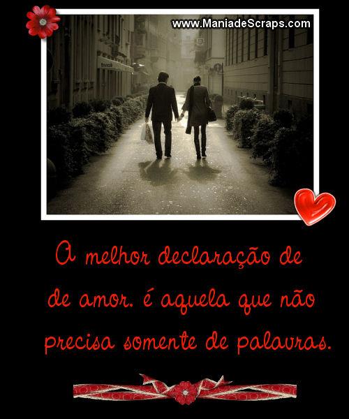 Recado Facebook Declaração de Amor