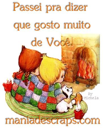Recado Facebook Gosto Muito De Você!