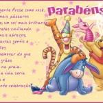 Recado Facebook Parabéns Turma do Pooh