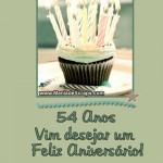 Recado Facebook 54 Anos Um Feliz Aniversário