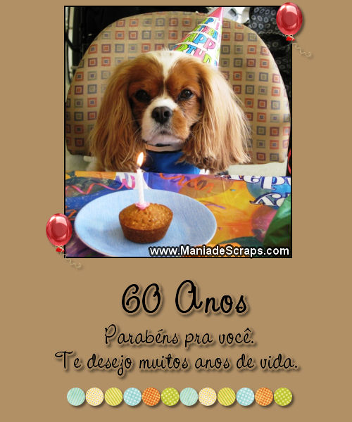 Recado Facebook 60 Anos Parabéns Pra Você