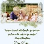 Recado Facebook Ternura – Manuel Bandeira