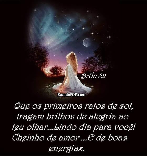 Recado Facebook Bom Dia Boas Energias