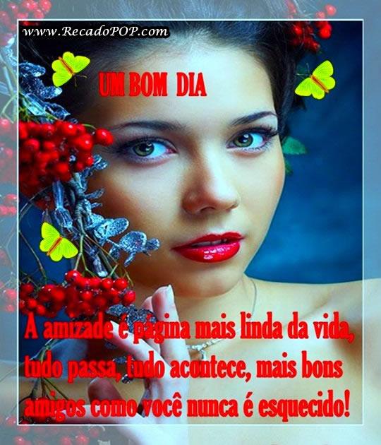 Recado Facebook Um Bom Dia