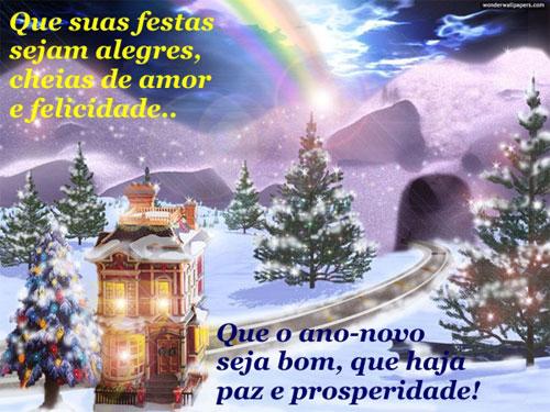 Recado Facebook Ano Novo de Paz e Prosperidade