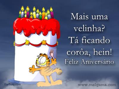 Recado Facebook Tá Ficando Coroa!
