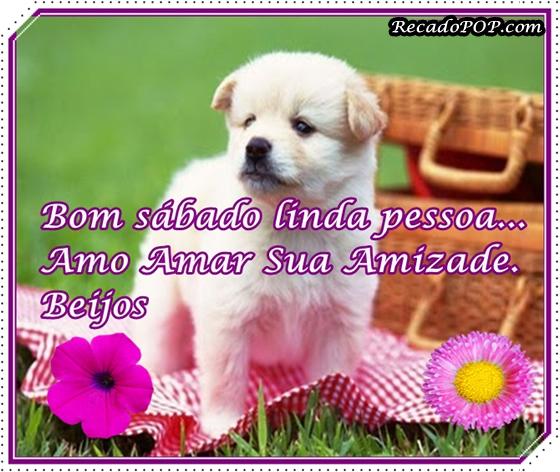 Recado Facebook Bom Sábado Pessoa Linda