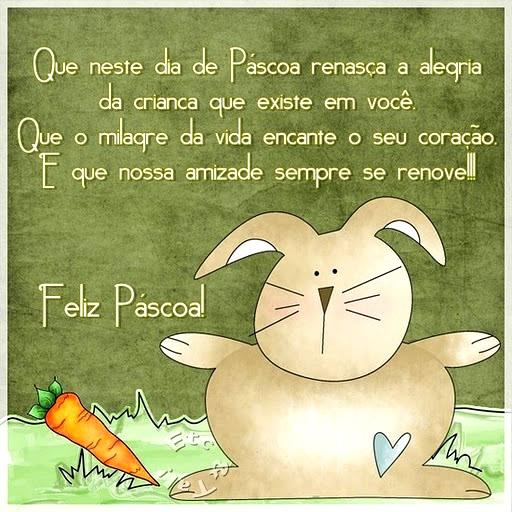Recado Facebook Renasça a Alegria na Páscoa