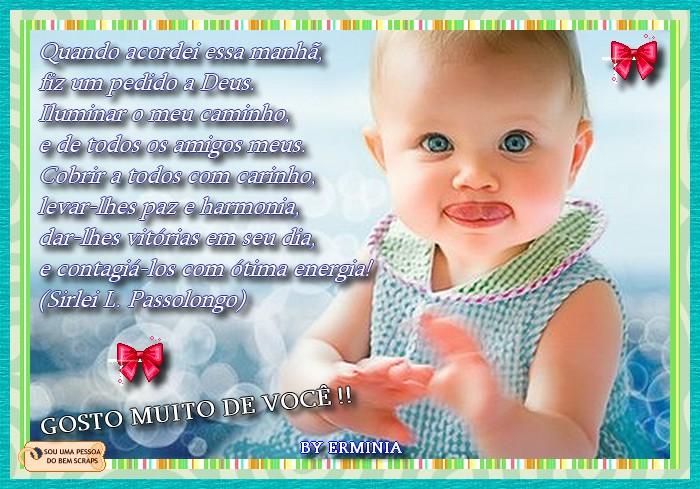 Gosto Muito De Você Bebê