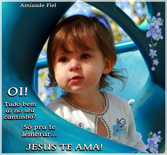 Recado Facebook Oi Jesus te ama