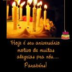 Recado Facebook Seu aniversário nos traz ALEGRIA