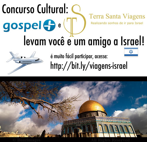 Recado Facebook Concurso Cultural: Ganhe 2 passagens para Israel!