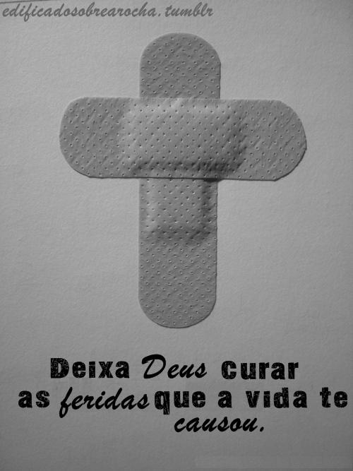 Recado Facebook Cristo pode curar suas feridas!