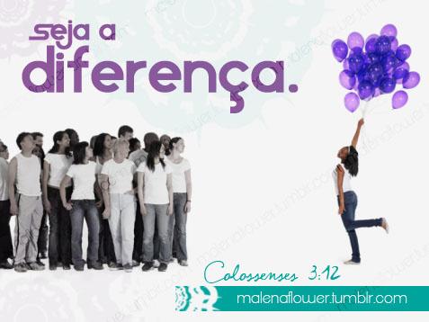 Recado Facebook Faça a diferença!