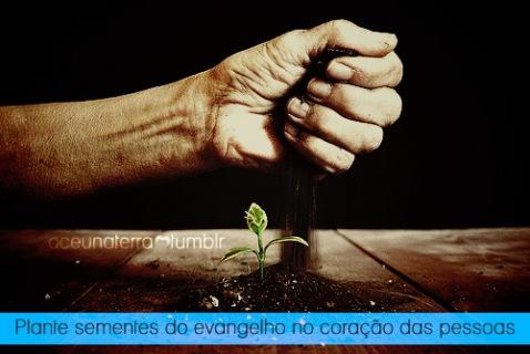 Recado Facebook Fale do Evangelho às pessoas!