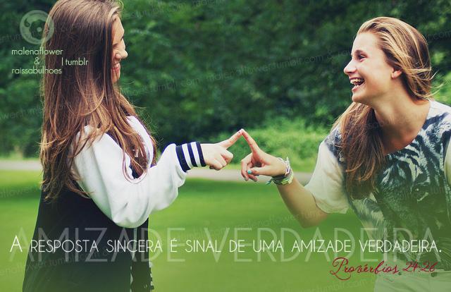 Recado Facebook As palavras em uma amizade sincera