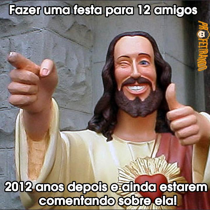 Recado Facebook Jesus é o cara!