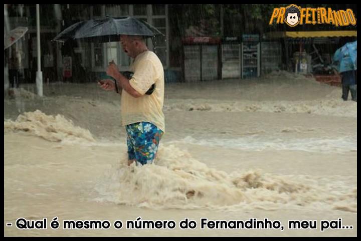 Recado Facebook Liga pro Fernandinho!