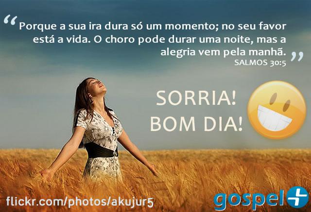 Recado Facebook Sorria! Bom dia!