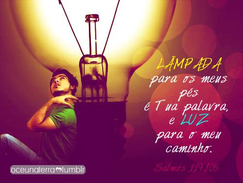 Recado Facebook A Bíblia ilumina nosso caminho