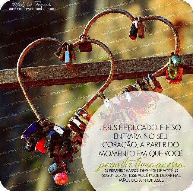 Recado Facebook Você abriu seu coração para Jesus?