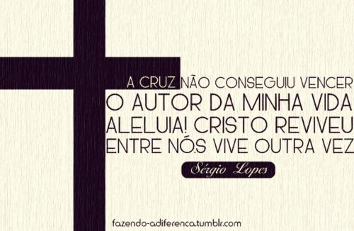 Recado Facebook Cristo vive!